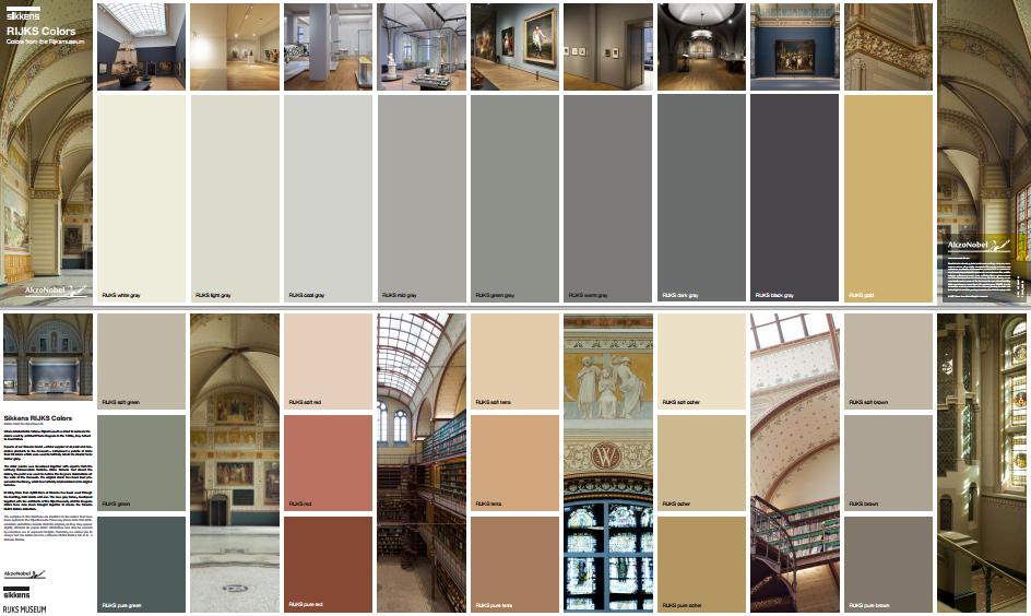 Kleuren uit het rijksmuseum in uw leef ruimte leef interieuradvies - Kleur rood ruimte ...