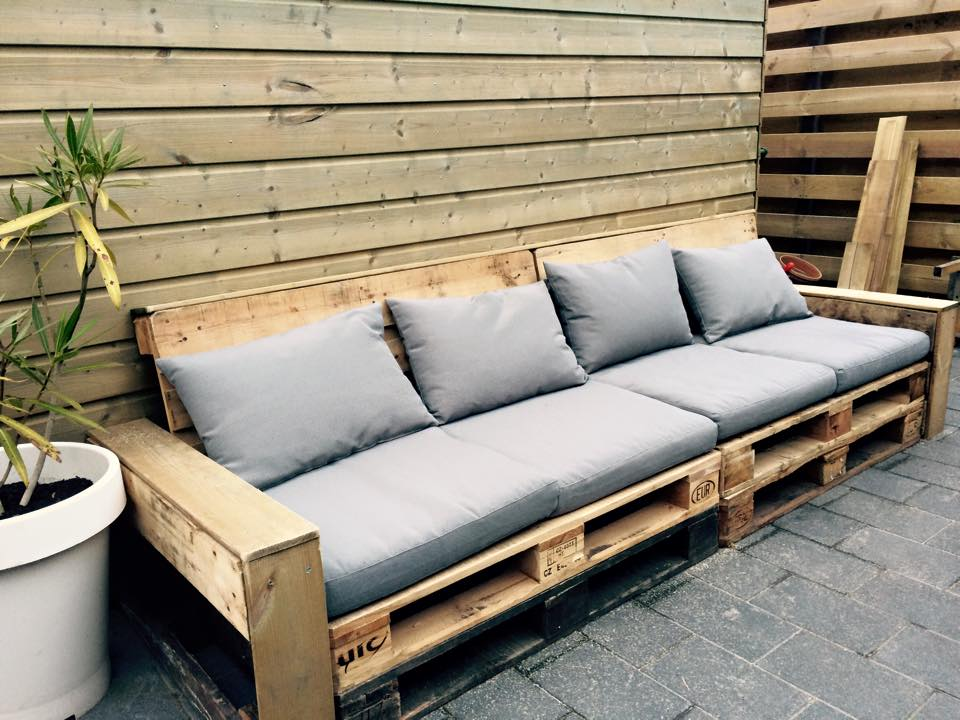 Basic pallet lounge bank leef interieuradvies o a advies in