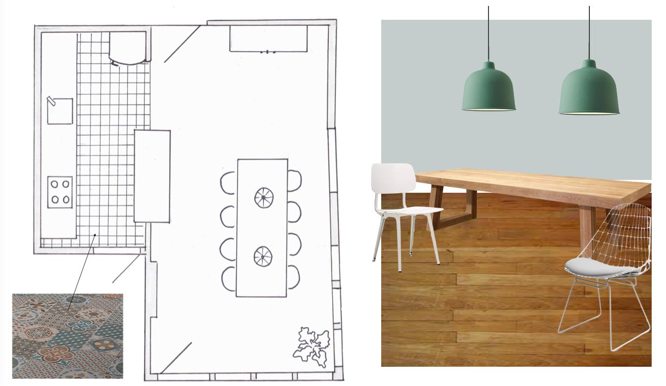 Plattegrond Keuken Ontwerpen : Moderne Plattegrond Voor Een Compact Vakantiehuis Pictures to pin on